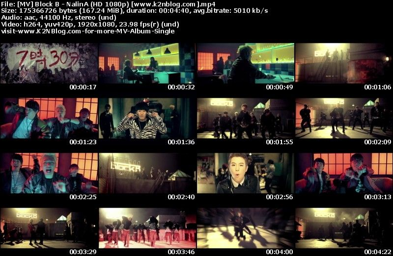 [MV] Block B - NalinA (HD 1080p Youtube)